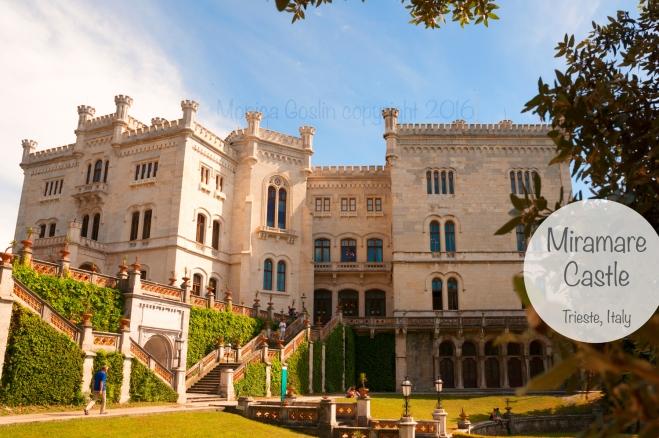 Trieste Italy Miramare Castle